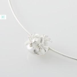 3 virágos pilisi len ezüst medál