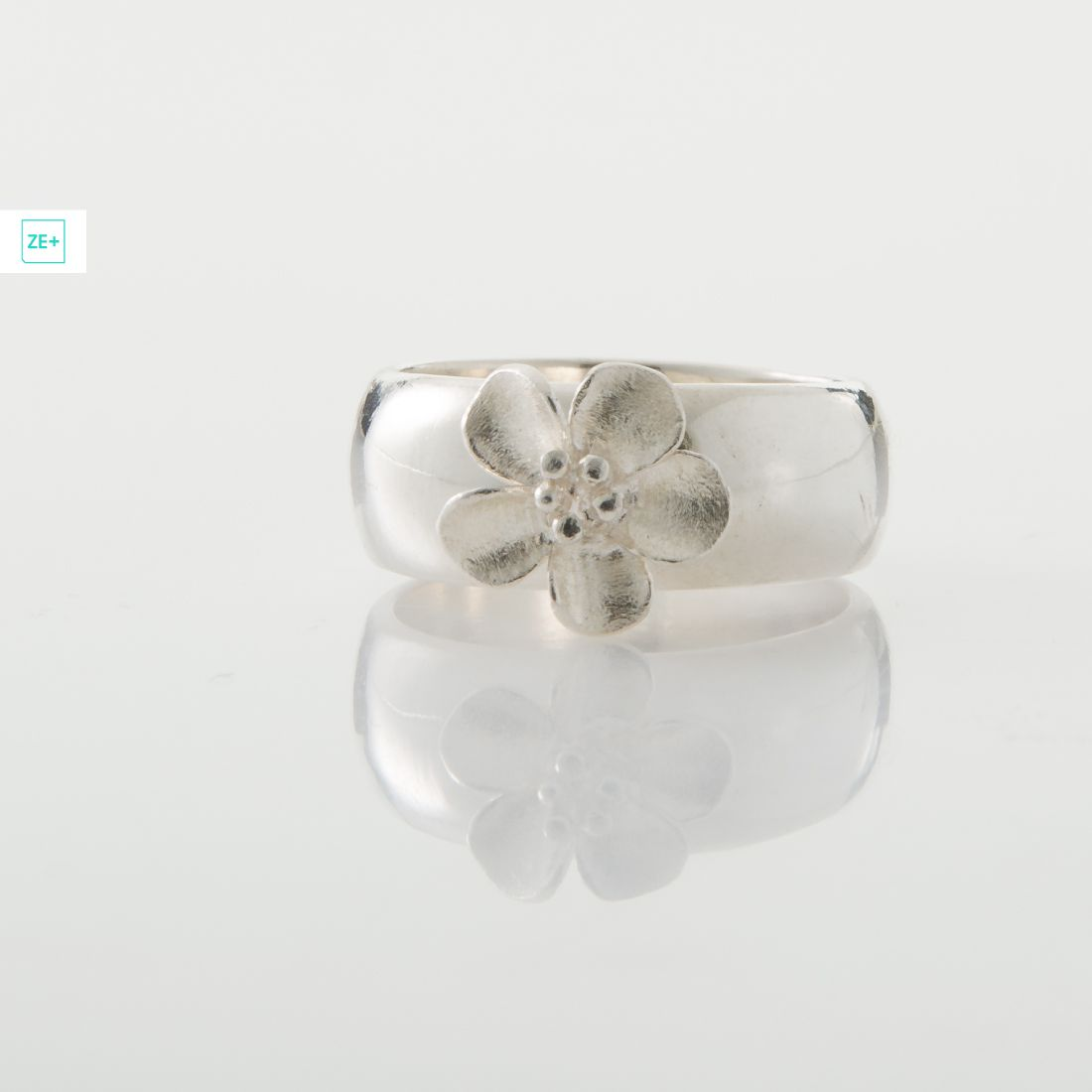 Pilisi len ezüst gyűrű