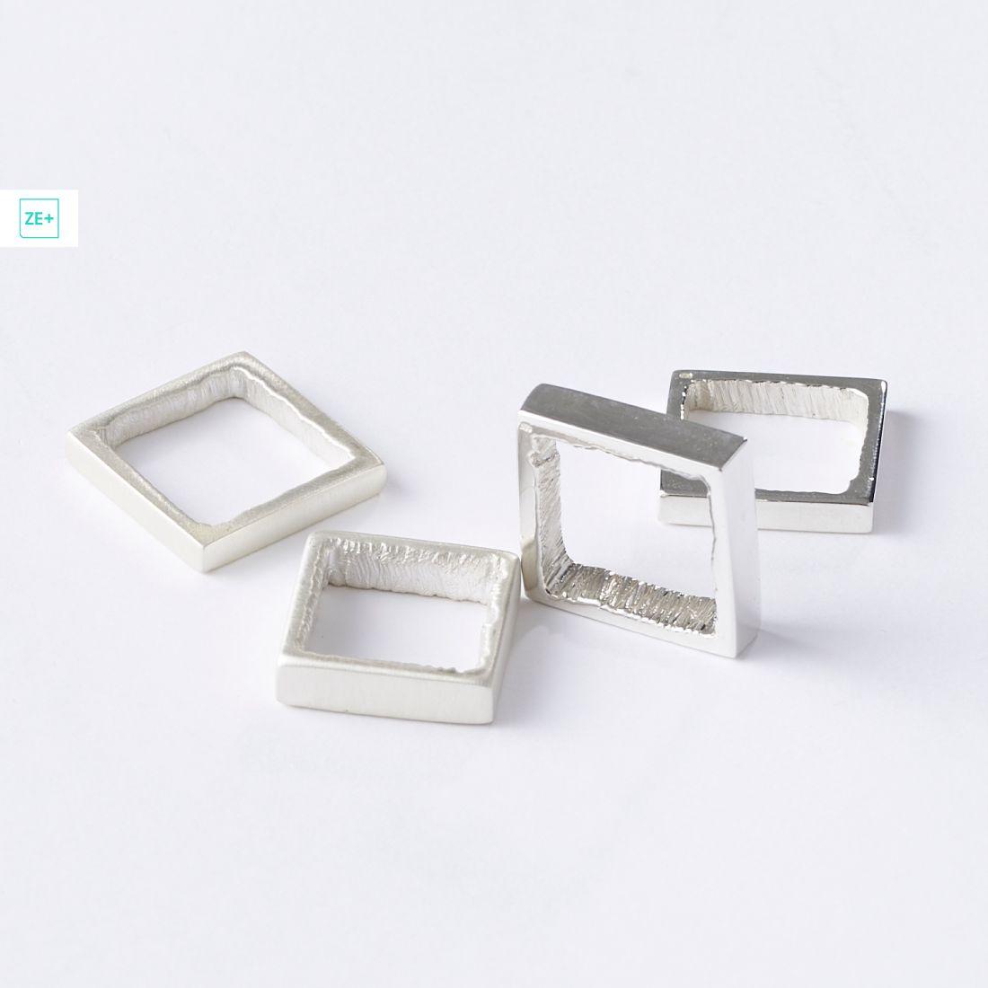 Origo négyzet gyűrű, keskeny