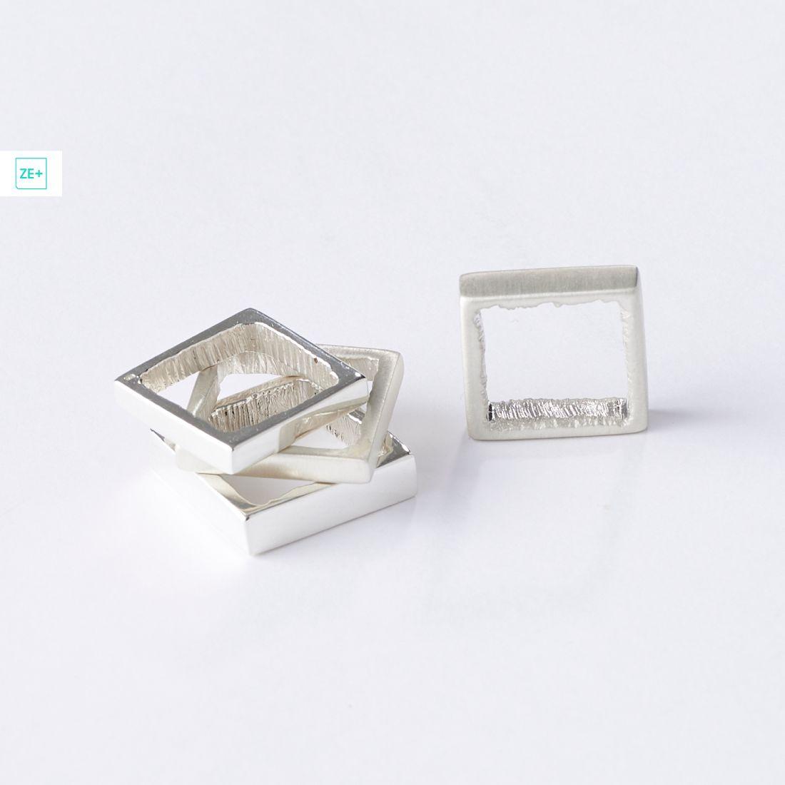 Origo négyzet gyűrű, széles